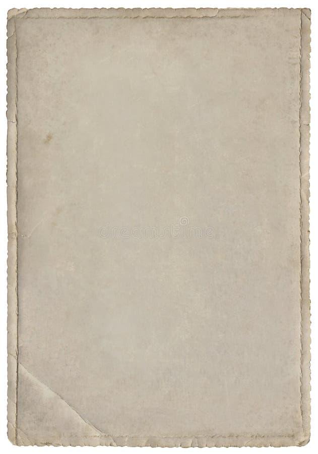 Stara fotografia papieru wycinanka fotografia stock