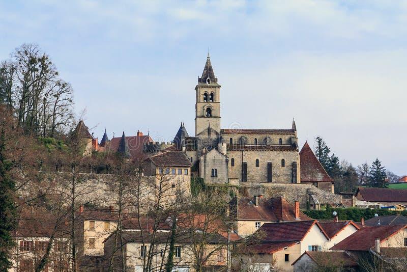 Stara francuska wioska zdjęcia stock