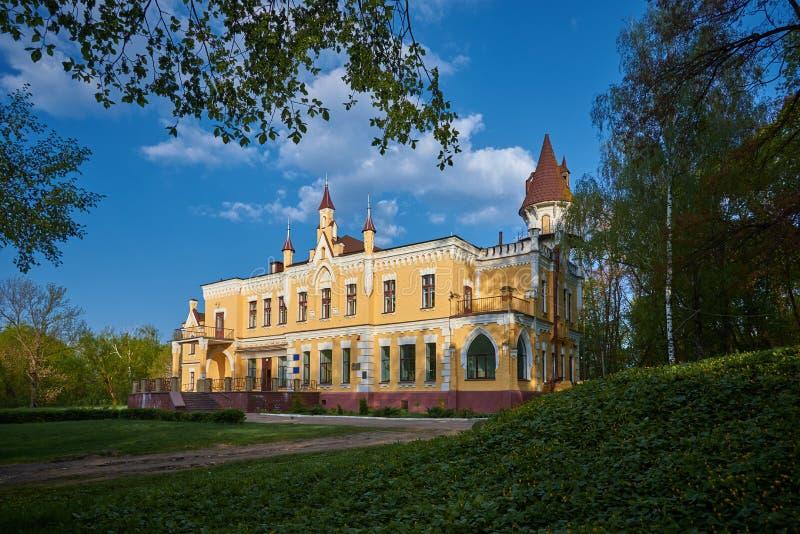 Stara Glebov rezydencja ziemska w Ukraina fotografia royalty free