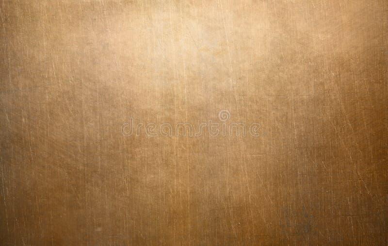 Stara groszaka lub brązu metalu tekstura zdjęcie royalty free