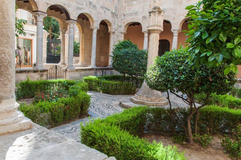 Stara hiszpańska architektura zdjęcia stock