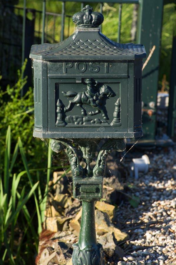 Stara holenderska skrzynka pocztowa obrazy stock