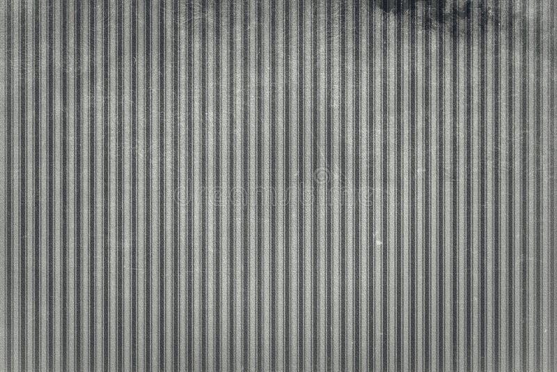 Stara i przetarta tekstura pionowo linie czarny white zdjęcia stock