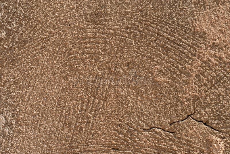 Stara kamiennej ściany tekstura z pęknięciami, Jaffa, Tel Aviv, Izrael fotografia royalty free