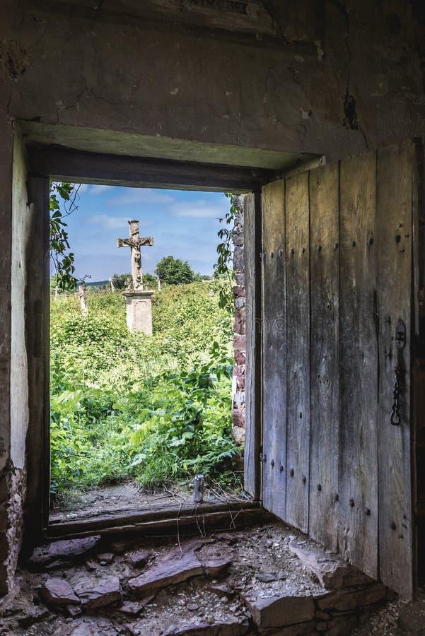 Stara kaplica w Chervonohorod obraz stock