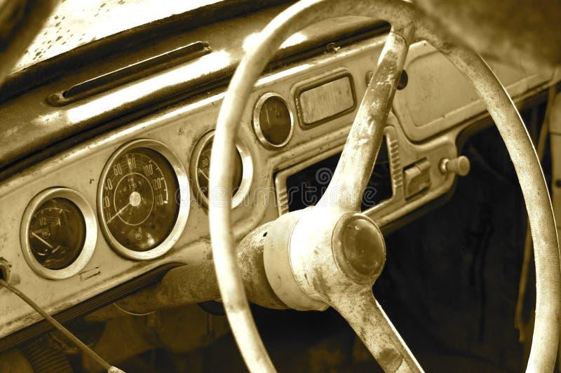 stara kierownicy obrazy royalty free