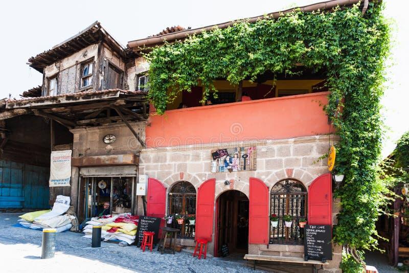 Stara knajpa w Cankaya okręgu Ankara zdjęcia stock