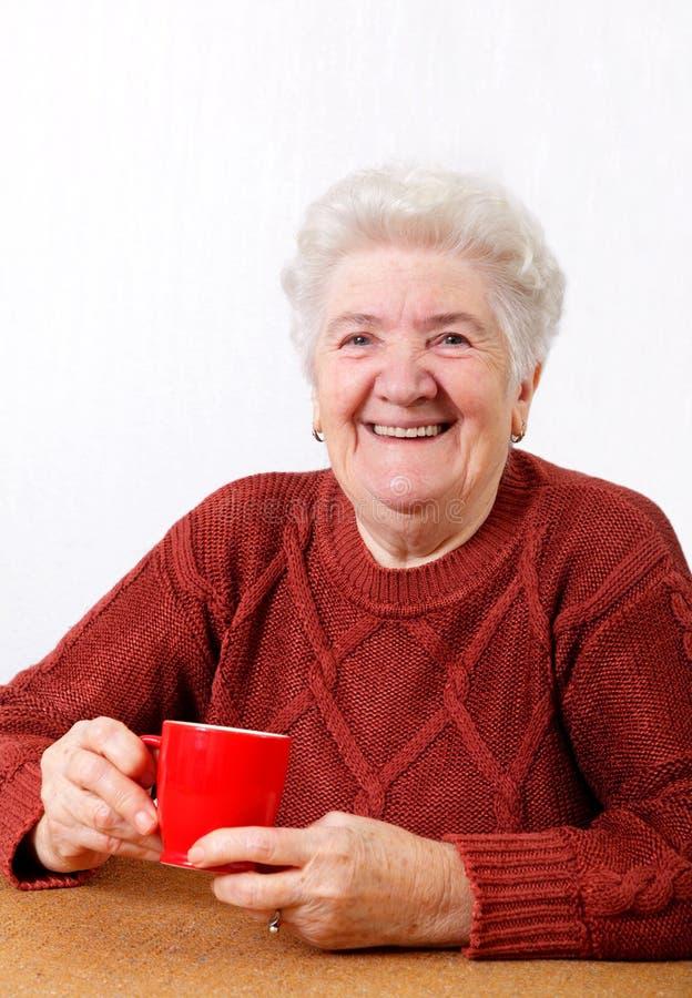stara kobieta fotografia royalty free