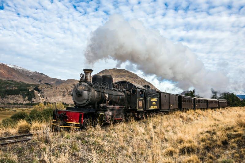 Stara kolej w Patagonia, Argentyna zdjęcia royalty free