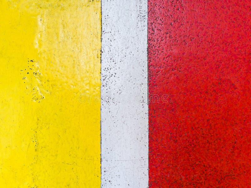 Stara kolor farby powierzchnia na cement ściany teksturze obrazy royalty free