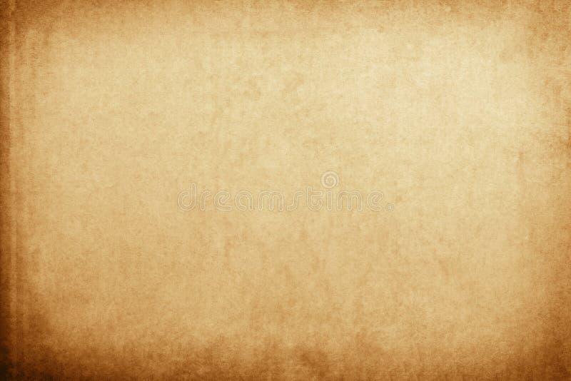 Stara Kraft papieru tekstura obraz stock