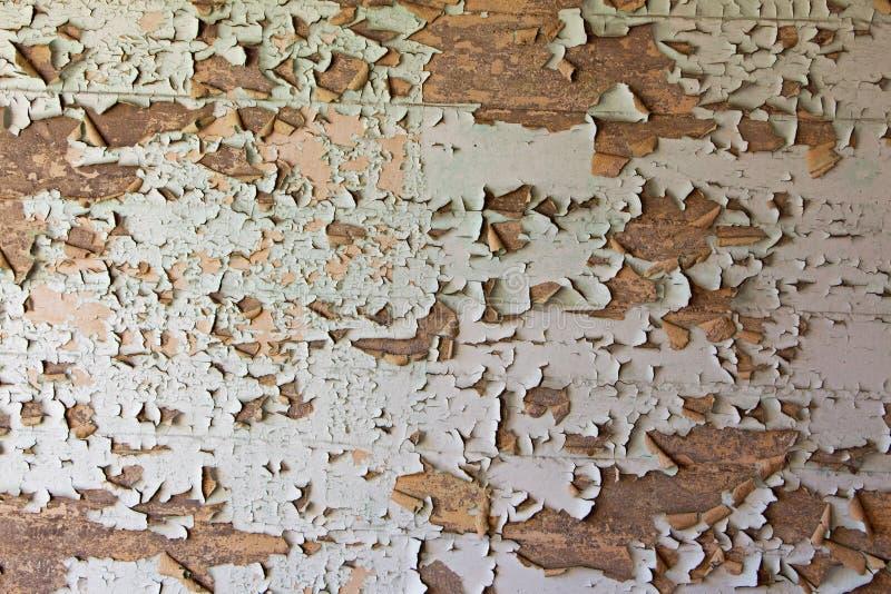 Stara krakingowa obdrapana ściana zdjęcie stock