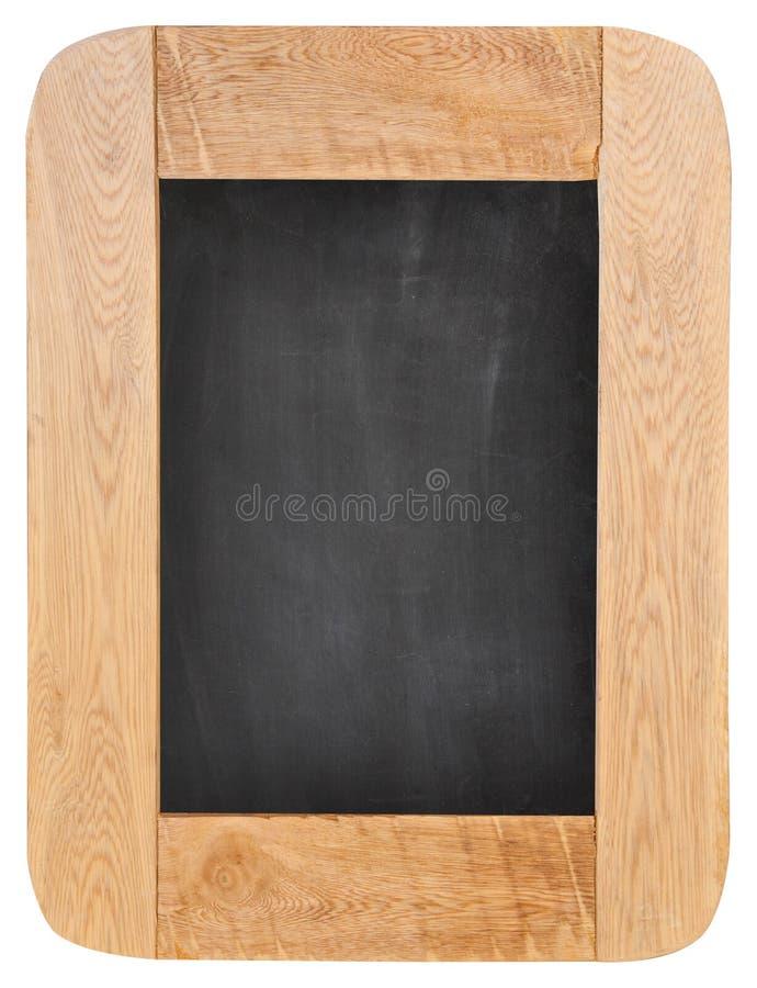 Stara kredowa deska z drewno ramą zdjęcie royalty free
