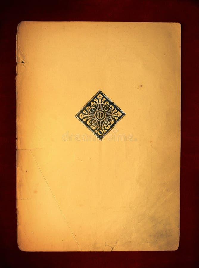 Stara książka (prześcieradło) fotografia stock