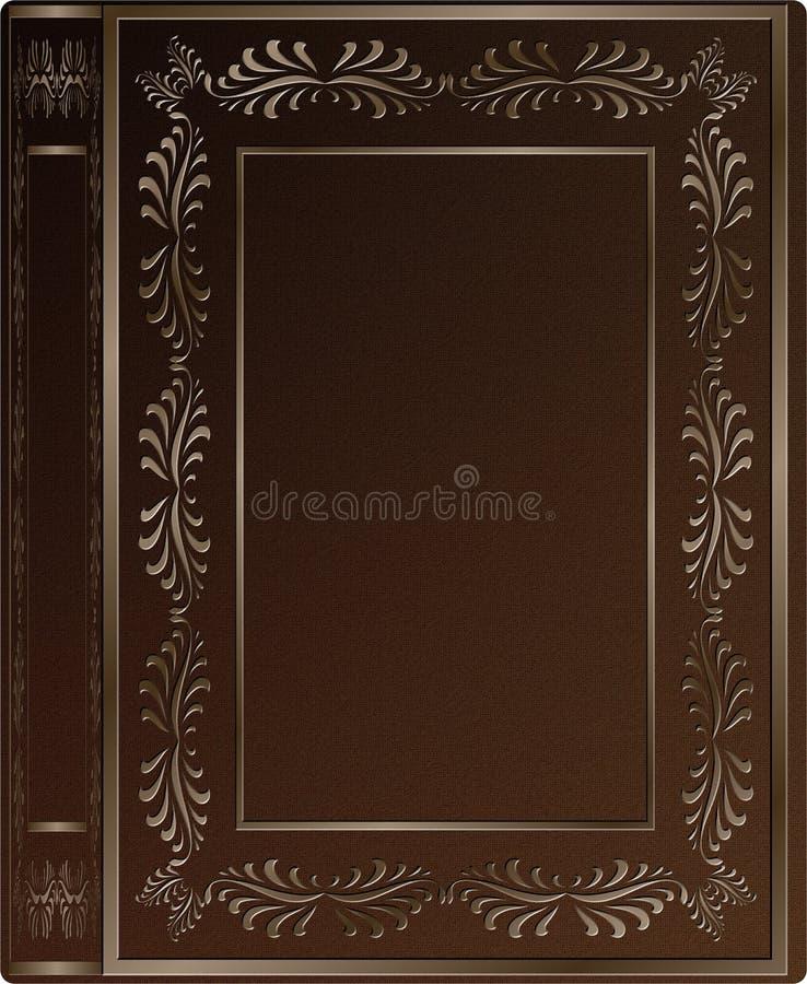 Stara książkowa pokrywa ilustracji