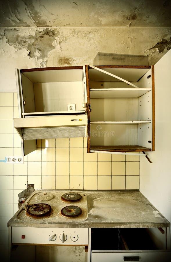 Stara kuchnia obraz royalty free