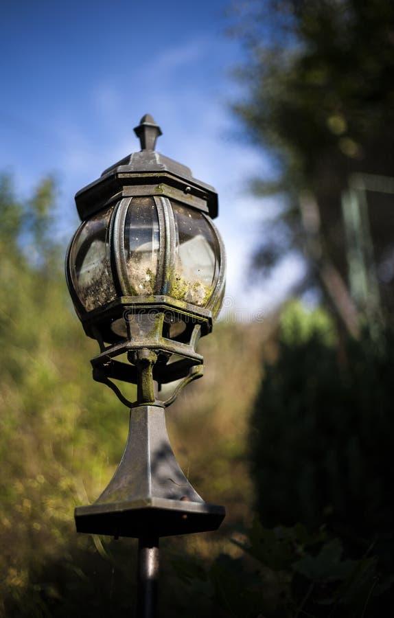 stara lampa obraz stock