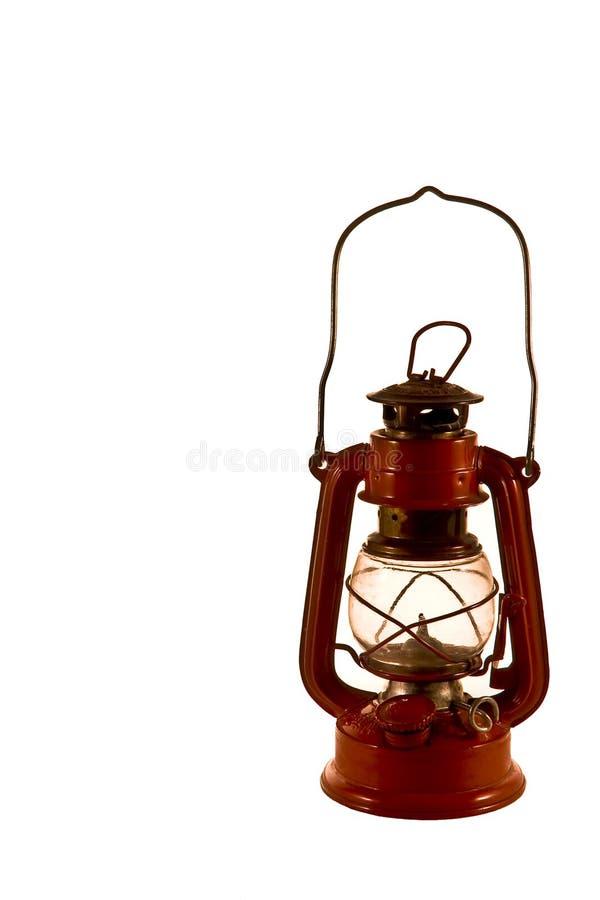 stara latarniowa czerwone. zdjęcia stock