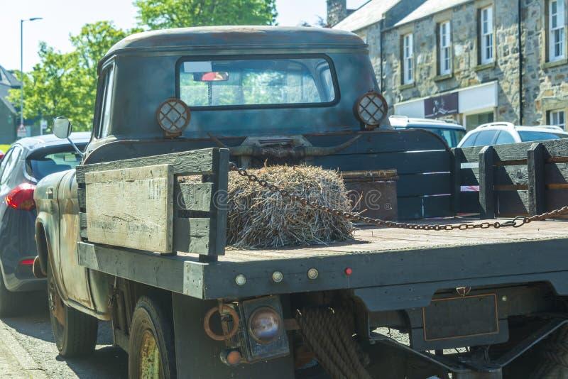 Stara lekka ciężarówka obrazy stock