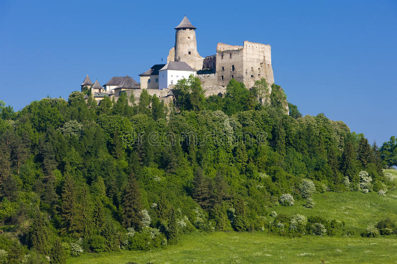 Download Stara Lubovna Castle stock photo. Image of travelling - 15641700
