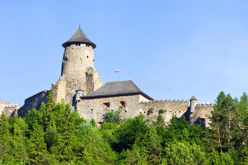 Download Stara Lubovna Castle stock photo. Image of gothic, historical - 33087552