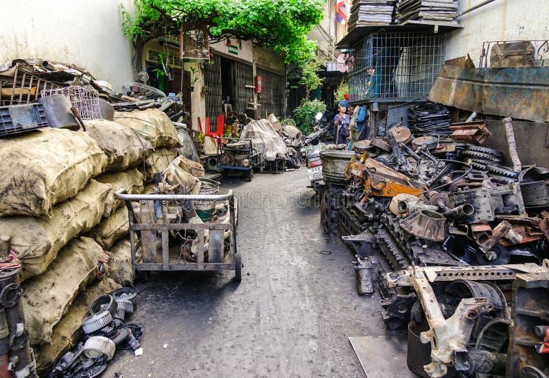 Stara Maszynowego narz?dzia fabryka w Bangkok, Tajlandia obrazy stock