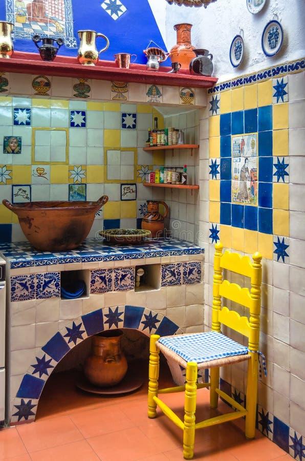 Stara Meksykańska kuchnia zdjęcia royalty free