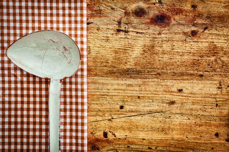 Stara metal kuchni kopyść zdjęcia royalty free