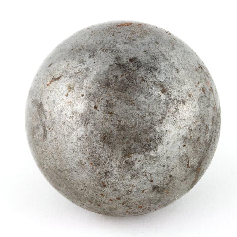 stara metal sfera obraz stock