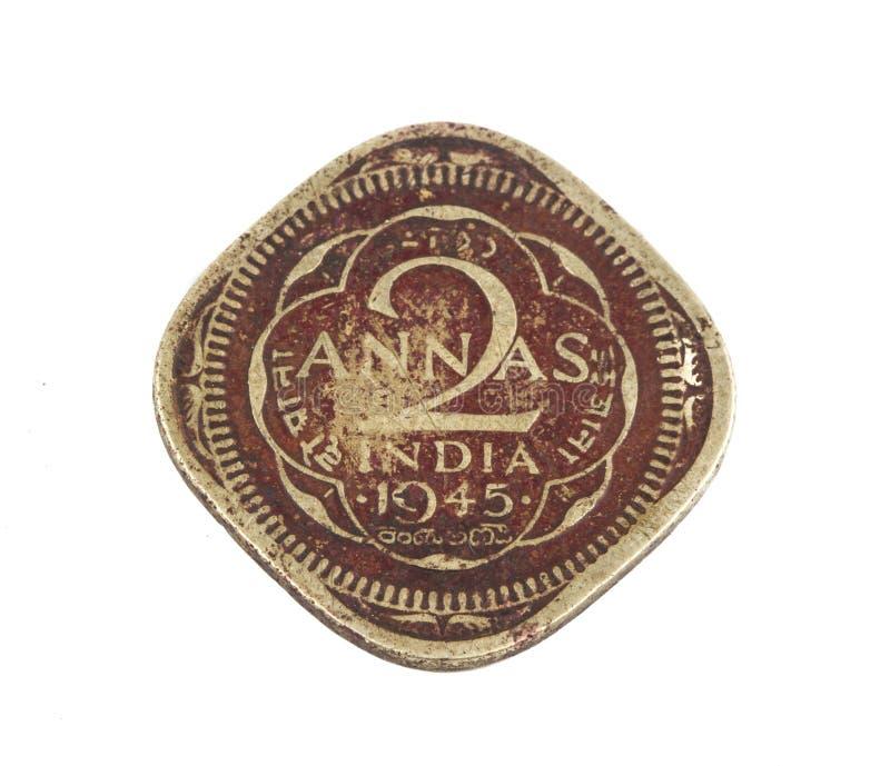 Stara moneta obrazy stock