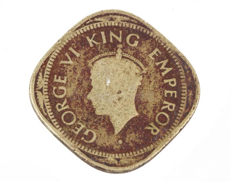 Stara moneta obraz stock