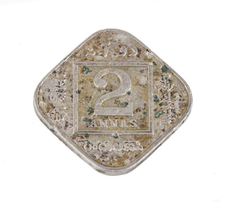 Stara moneta zdjęcia stock