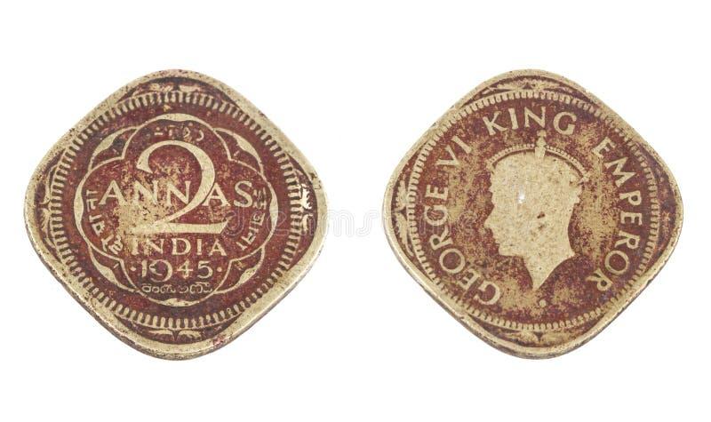 Stara moneta fotografia stock