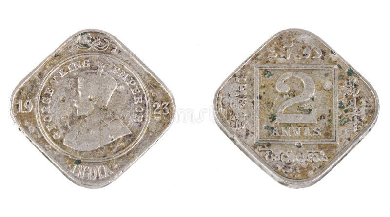 Stara moneta obraz royalty free