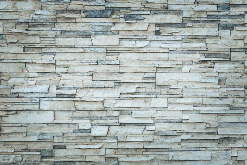 Stara naturalna kamienna ściana obrazy royalty free