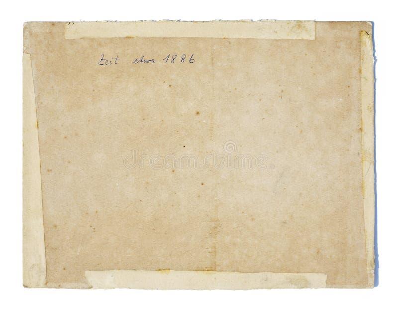 Stara papierowa tekstura zdjęcia stock