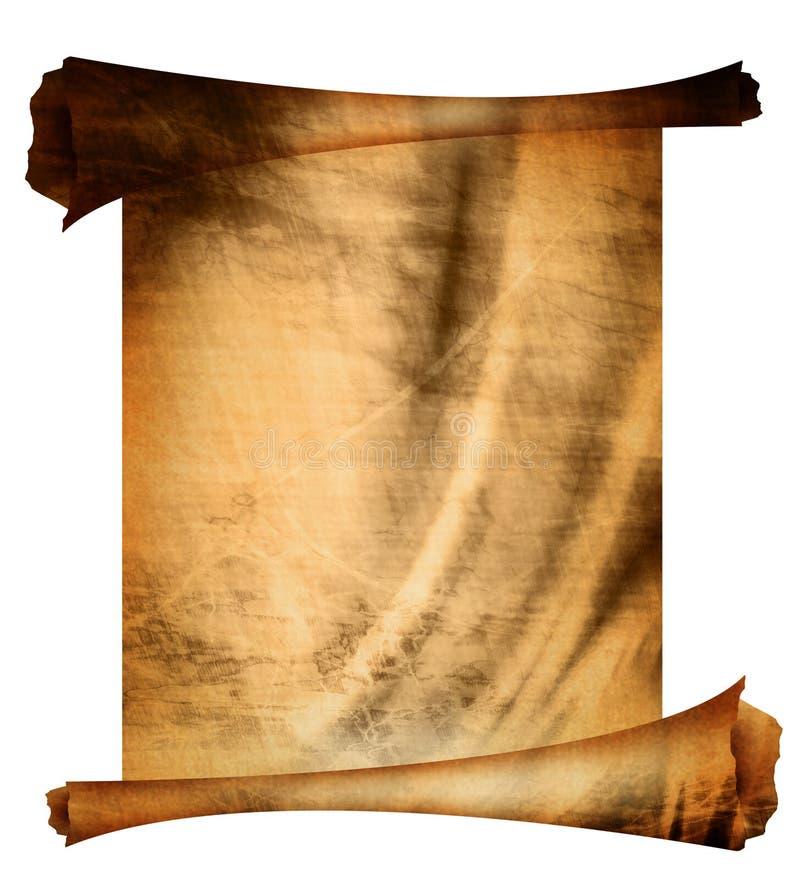 Stara papierowa tekstura ilustracji