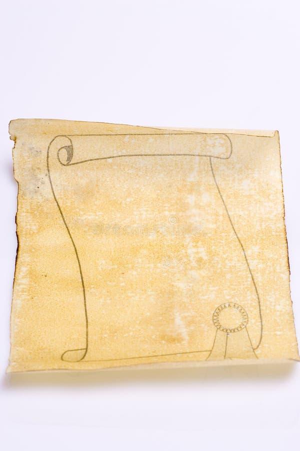 stara papierowa zwoju obrazy royalty free