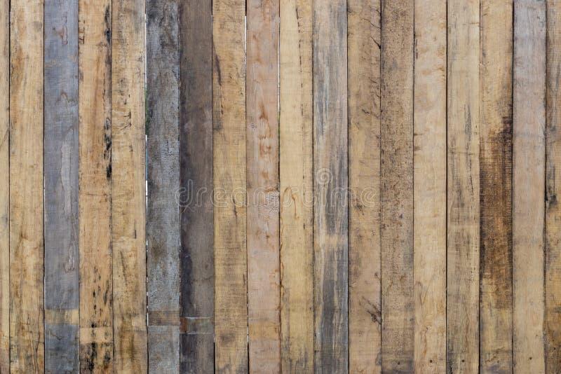 Stara pobrudzona drewniana ściana obrazy royalty free