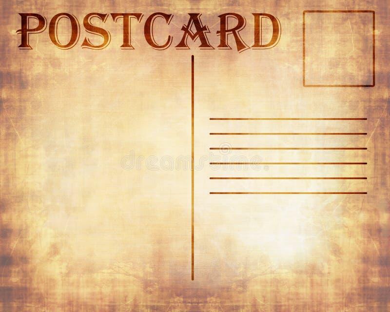Stara pocztówka ilustracji