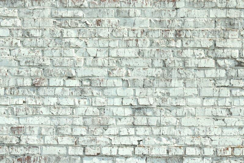 Stara pod?awa ?ciana zielony ceglany kolor jako abstrakcjonistyczny t?o zdjęcia stock