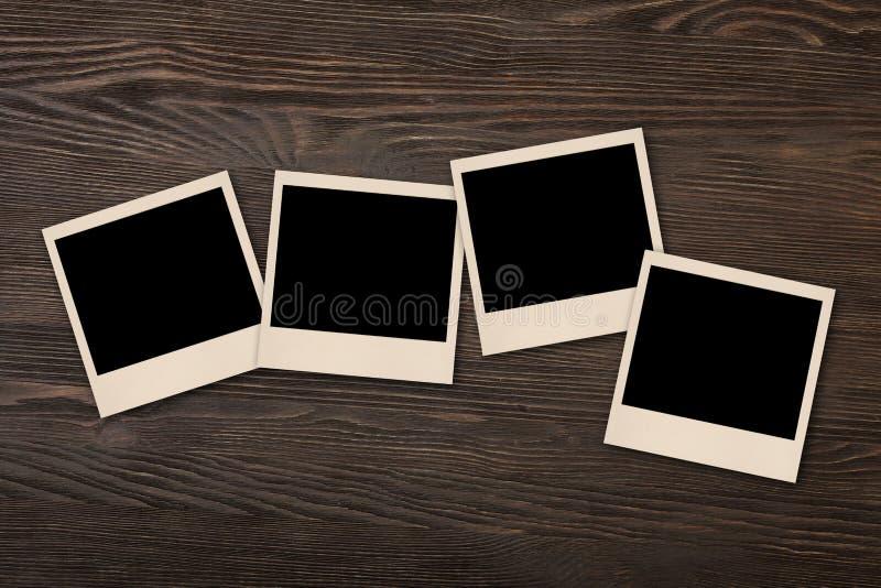 Stara polaroid fotografia zdjęcie stock