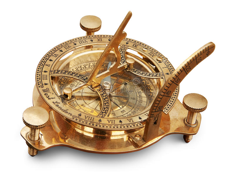 stara pomiarowa instrument nawigacja obrazy royalty free