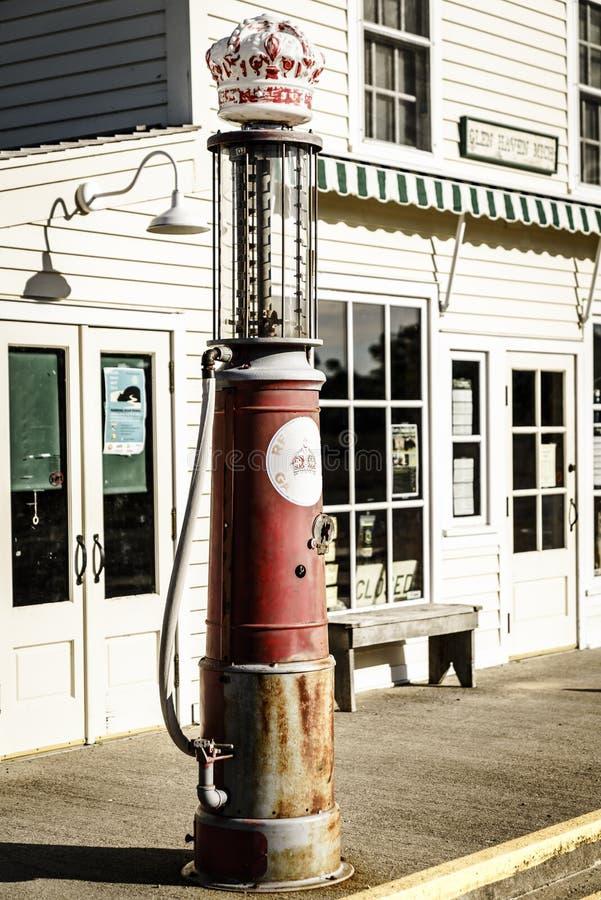 stara pompa paliwowa obrazy stock