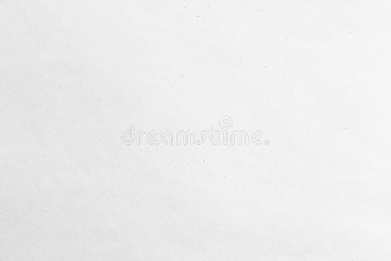 Stara popielata eco papieru Kraft tła tekstura w miękkim świetle białym zdjęcia royalty free