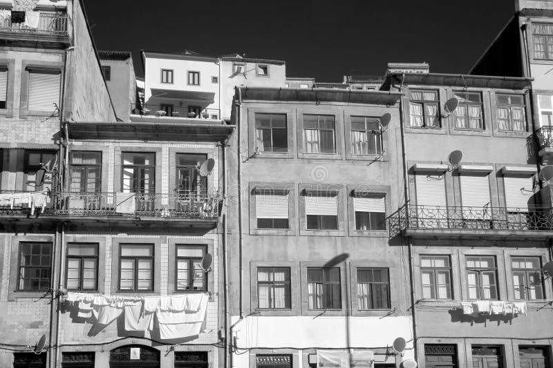 Stara Porto architektura obrazy stock