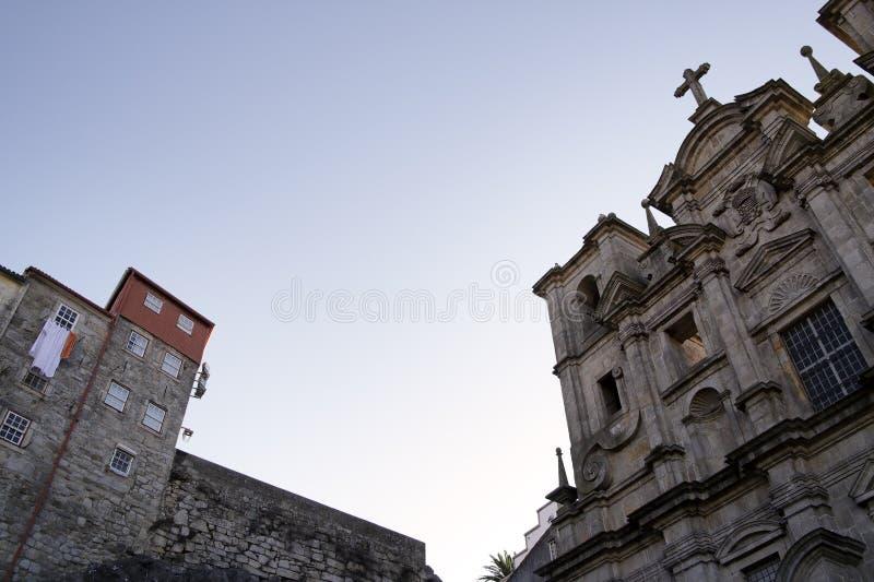 Stara Porto architektura fotografia stock