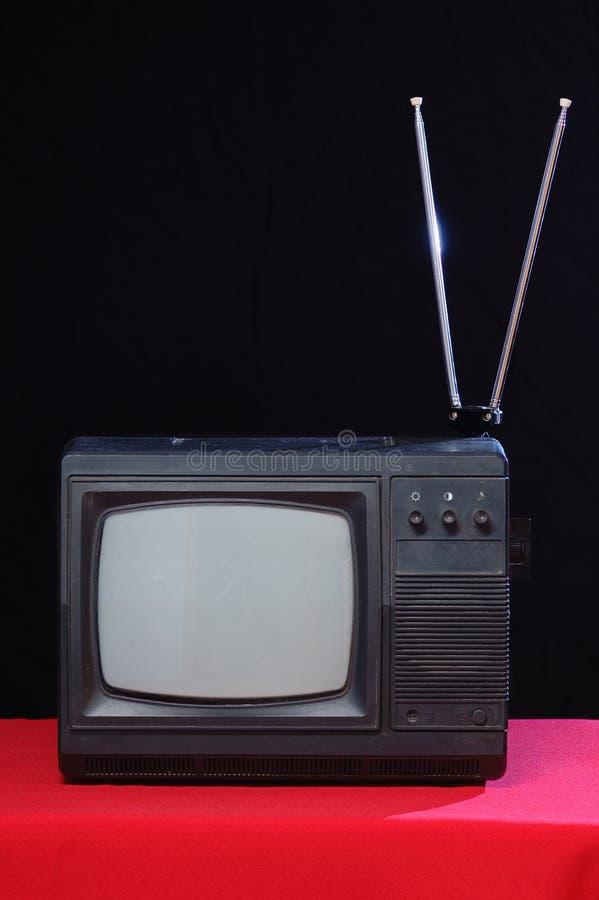 stara postawił telewizja zdjęcie royalty free