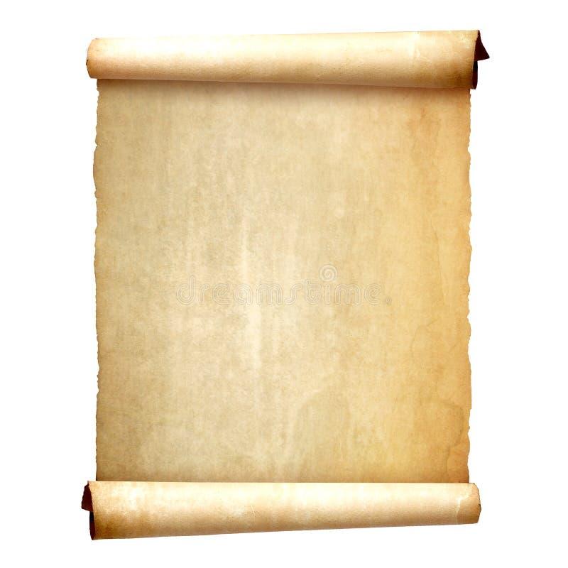 Stara rocznik ślimacznica odizolowywająca na białym tle obrazy stock