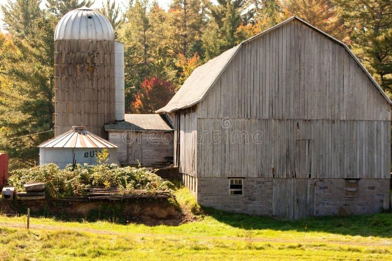 Stara rodziny gospodarstwa rolnego stajnia zdjęcia stock